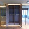 menuiserie de waterloo Intérieur de meuble sur mesure avec tiroir et penderie. placard et dressing à waterloo