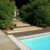 terrasse en bois sur mesure Wavre plancher ipé B-Fix plancher de jardin menuiserie sur mesure