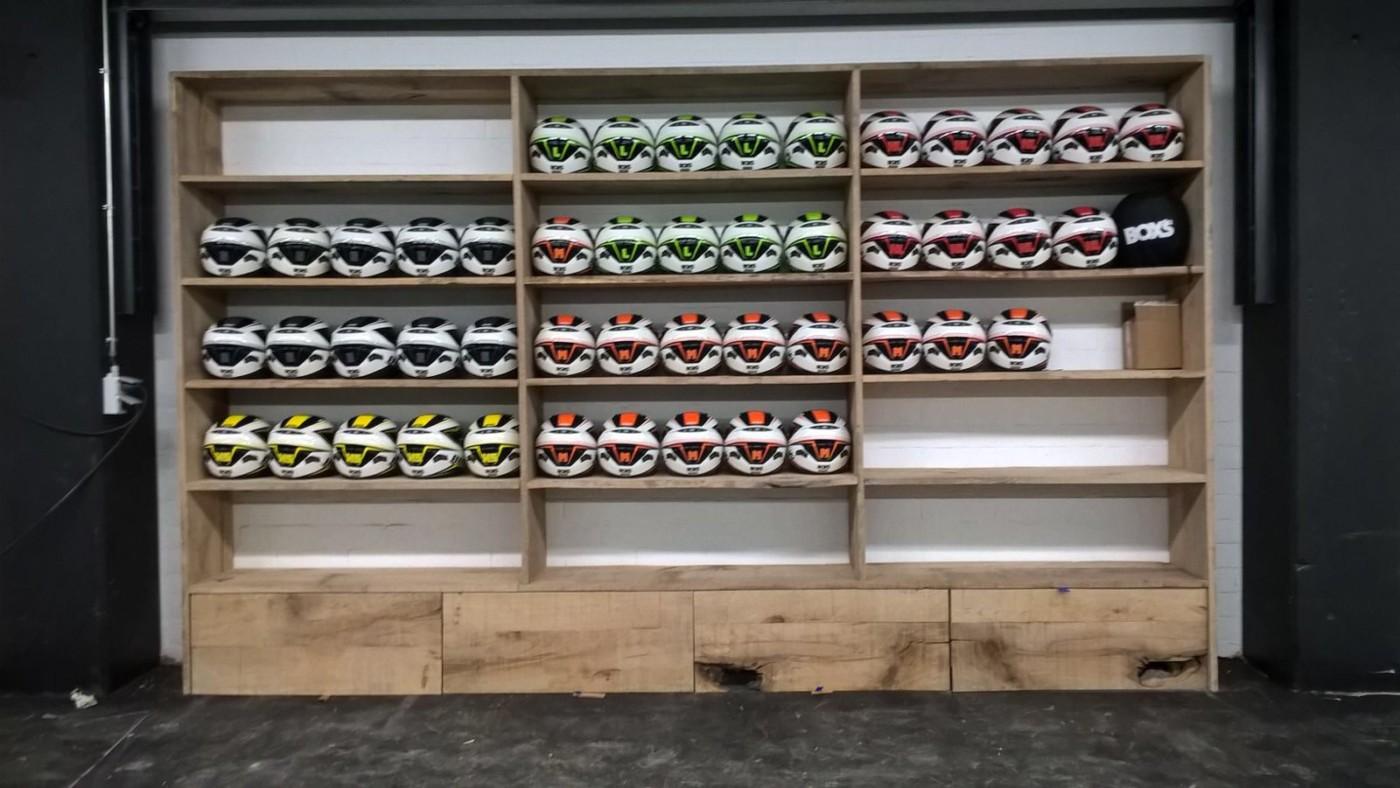 Mobilier sur mesure de style industriel mt design for Karting exterieur 92