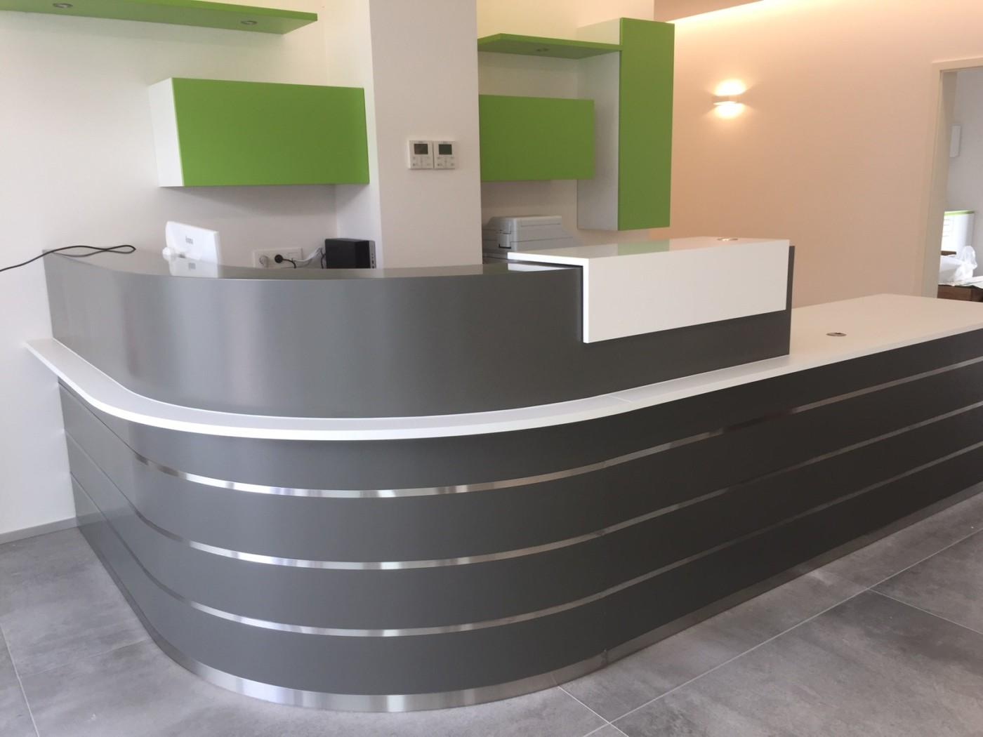 R alisation d 39 un comptoir pour un cabinet dentaire mt design - Comptoir central d electricite perpignan ...