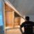 placards dressing sur mesure à uccle interieur en melamine tiroit bluemotion eclairage led charniere soft close porte laquée maison bois