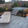 terrasse en bois sur mesure waterloo éclairage mélange bois et pierre terrasse en bois arrondie terrasse sur toit wavre