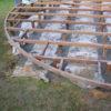 terrasse arrondie sur pilotis bas fondation et lammele visse
