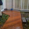 terrasse en bois ipe a 45 degre dasn l'eau maison moderne architecte sur mesure wavre