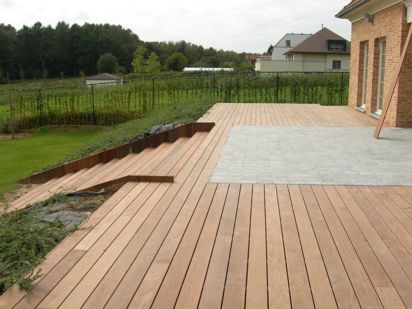 terrasses en bois ip et pierres mt design. Black Bedroom Furniture Sets. Home Design Ideas