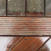 entretien nettoyage bois terrasse glisse laver savon