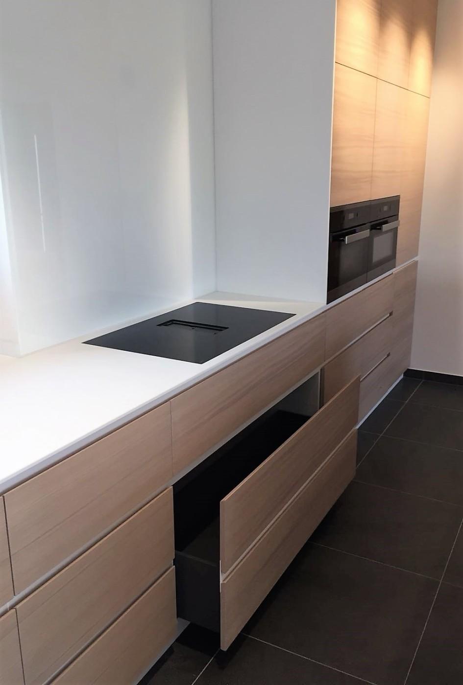 Meuble Corian Sur Mesure mobilier pour cuisine contemporaine - mt-design