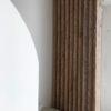 claustra sur mesure vieux bois paravent maison moderne escalier arrondis uccle