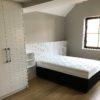 chambre à coucher avec lit et dressing meuble suir mesure walhain