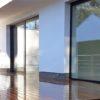 terrasse en bois plancher de terrasse maison contemporaine