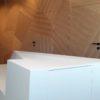 bardage dressing mur chene sur mesure mur concept portes invisible